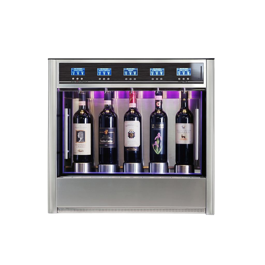 DISTRIBUTEUR À VIN WE-CINQDZ3+2