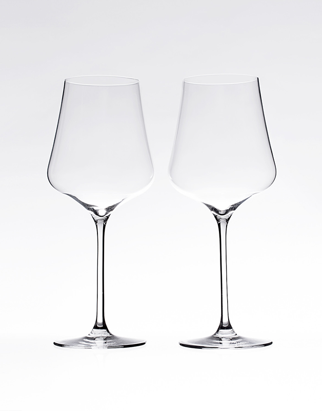 WINE GLASSES STAND-ART - SET OF 2
